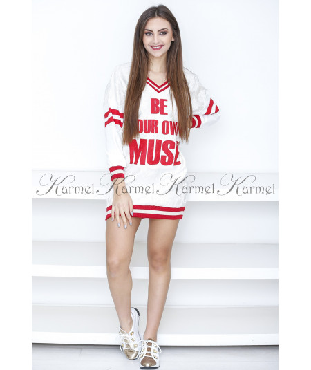 VESTIDO SPORT BE YOUR OWN MUSE SAHOCO