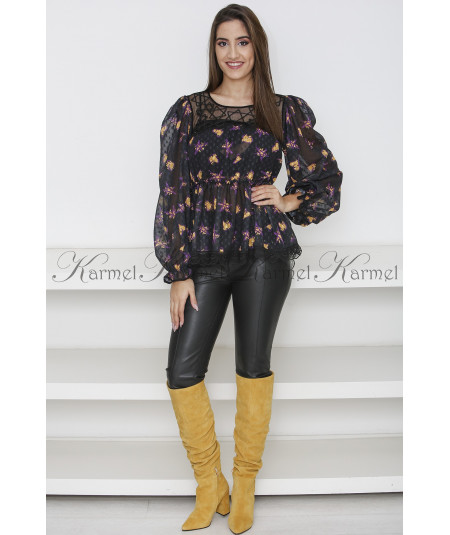 BLUSA FANTASIA RENDA SWALLOW